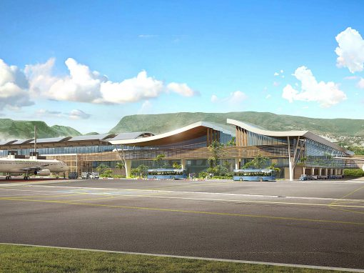 New BHS for the expansion and renovation of Roland Garros Airport in Ile de la Reunion